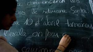 Aragón reparte subvenciones oficiales para fomentar la rotulación en catalán
