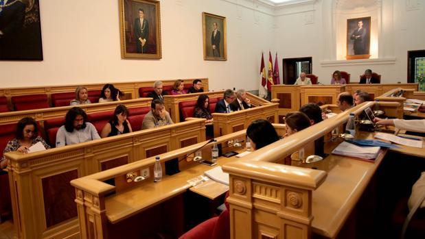 La corporación municipal en el Pleno
