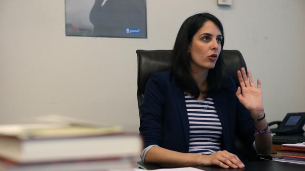 Rita Maestre, portavoz municipal, en una imagen de archivo