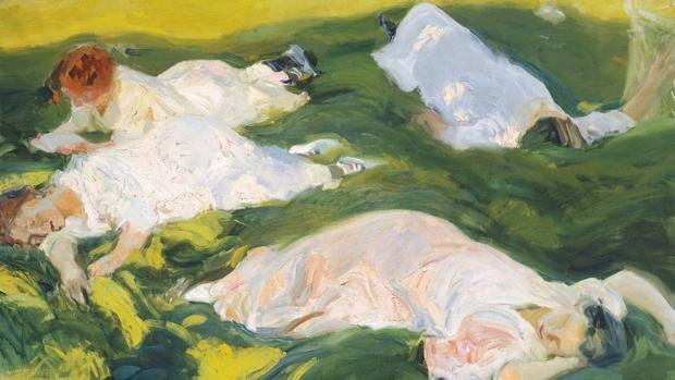La siesta (Sorolla, 1911). Museo Sorolla