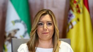 Ferraz se queda mudo tras la acusación a Griñán mientras Díaz le defiende