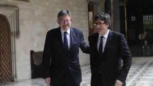 Encuentro Puig-Puigdemont: un frente común por el Corredor Mediterráneo y por el turismo