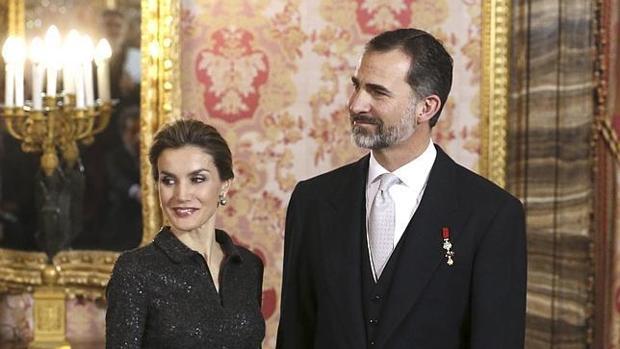 Don Felipe y Doña Letizia en una imagen de archivo