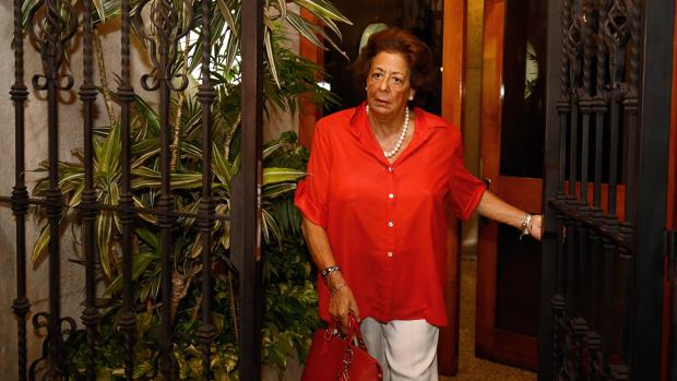 Imagen de Rita Barberá tomada la pasada semana en su domicilio