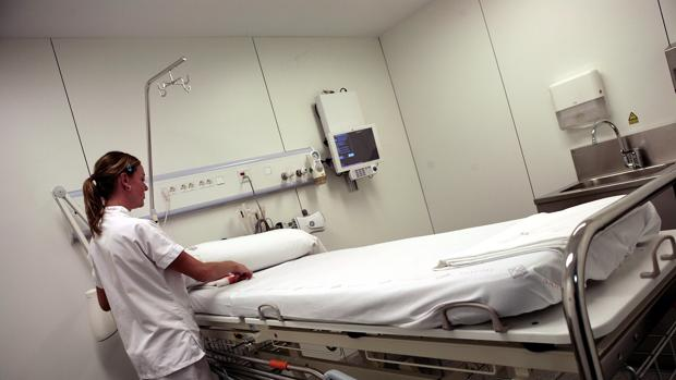 El Hospital de Sant Pau fue uno de los que redujo su capacidad a raíz de la crisis