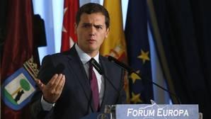Rivera: «La ronda de contactos que tiene que hacer Sánchez es con sus barones»