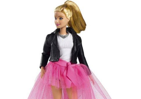 Uno de los modelos Barbie de la muestra