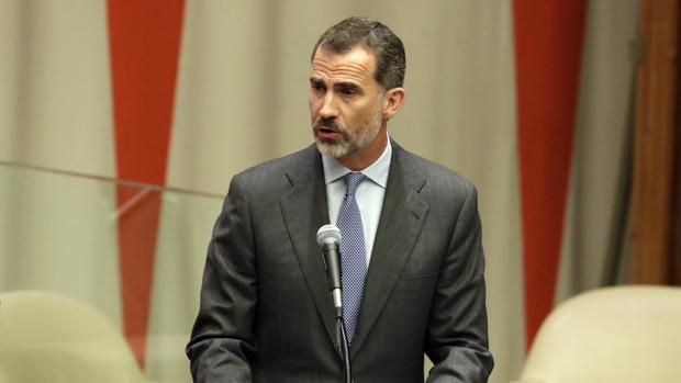 Felipe VI, en la cumbre sobre refugiados en la ONU