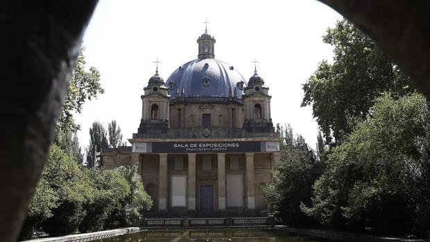 Vista del Monumento de los Caídos en Pamplona, en cuya crípta están los restos mortales de los generales Emilio Mola y José Sanjurjo