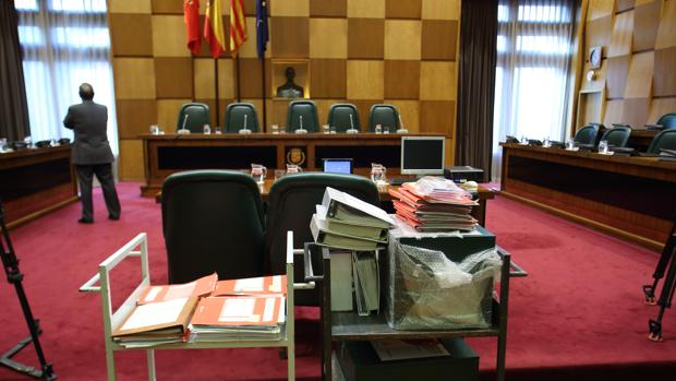 Salón de Plenos del Ayuntamiento de Zaragoza