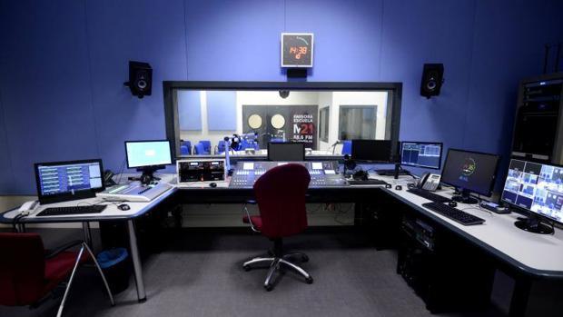 Estudio de radio M21
