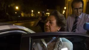 Rita Barberá comunica al Senado su baja en el PP y pide pasar al grupo Mixto