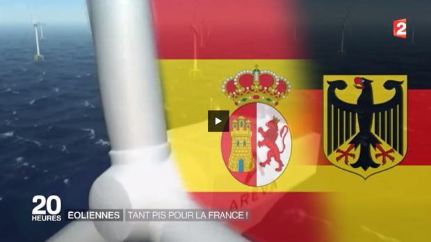 La bandera española equivocada, junto con la de Alemania
