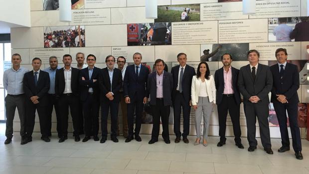 Hidraqua celebra su comité de dirección en las instalaciones de Cruz Roja