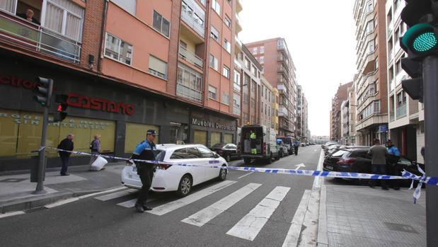 Lugar del suceso producido en Valladolid
