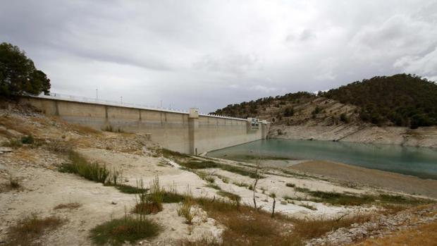Embalse del Amadorio, en Alicante