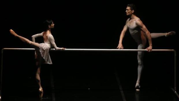 Lucia Lacarra, en su espectáculo «En cuerpo y alma»