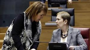 La Mesa del Parlamento de Navarra rechaza colocar la bandera europea en la sede de la Cámara