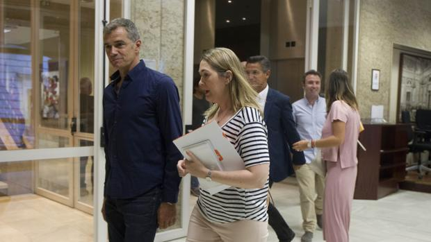 Imagen de Toni Cantó tomada en el Congreso el pasado 28 de agosto