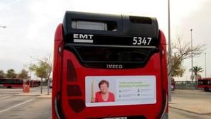 Reclaman la retirada de un campaña en los autobuses de la EMT por «denigrar a las residencias de ancianos»