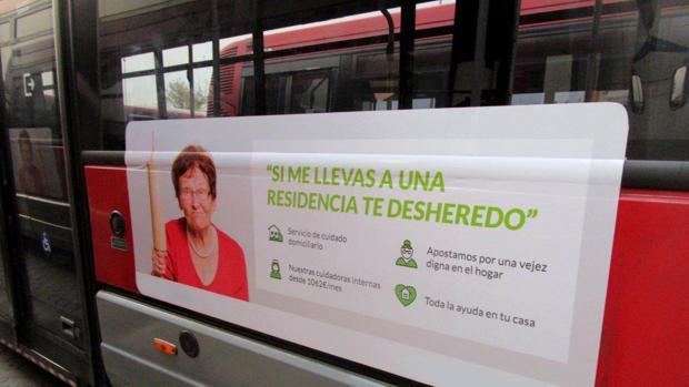 Imagen de la campaña de la EMT