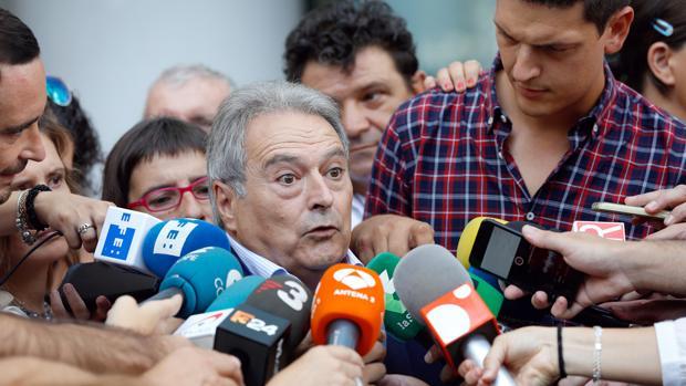Imagen de Alfonso Rus tomada el pasado viernes en la Ciudad de la Justicia de Valencia