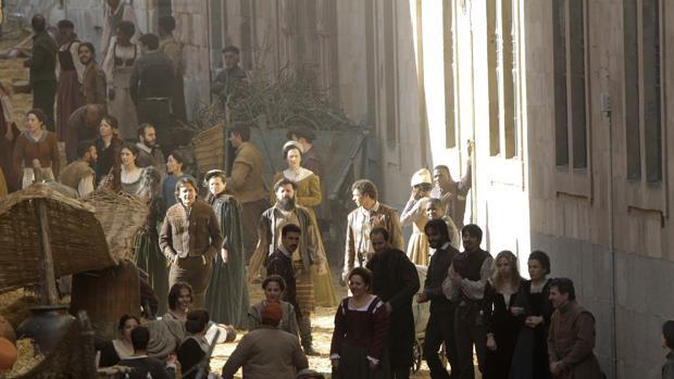 Durante el mes de abril recrearón en Alba de Tormes la ciudad italiana de Verona