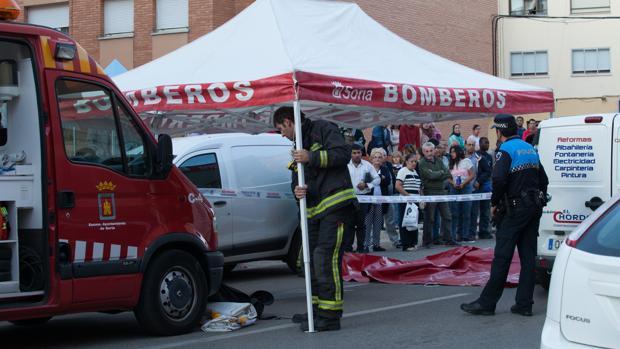 Atropello mortal en la calle Merineros (Soria)