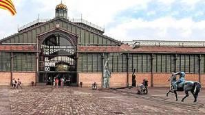 Barcelona salva in extremis la exposición con esculturas de Franco ante el Born