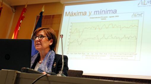 Paloma Castro, delegada de la Aemet en Castilla-La Mancha