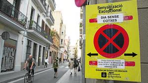 El Día sin Coches de Colau amenaza con colapsar Barcelona