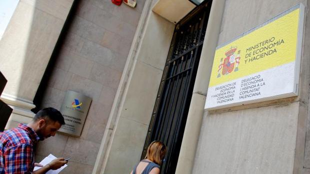 Oficinas de la Agencia Tributaria en Valencia