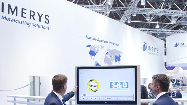 El grupo Imerys tiene su sede central en París y cuenta con delegación industrial en Onda (Castellón)