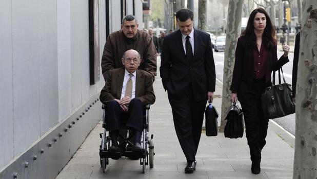 Millet, al acudir al juicio por el caso Hotel Palau