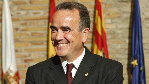 Juan Antonio Sánchez Quero (PSOE), presidente de la DPZ