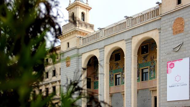 Edificio de la Universidad Isabel I