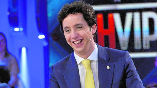 Francisco Nicolás Gómez, en un programa de televisión