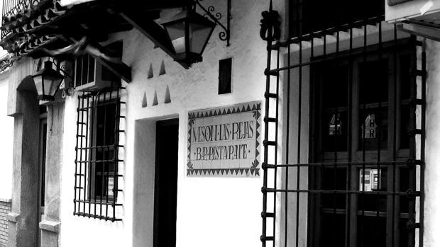 Fachada del Mesón, abierto en el año 1970 en la ciudad de Albacete