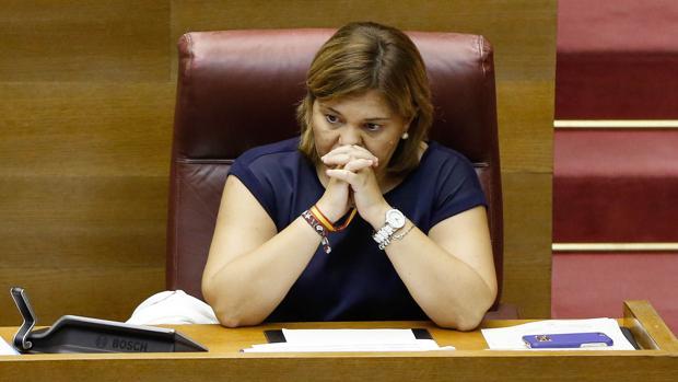 Isabel Bonig, en las Cortes