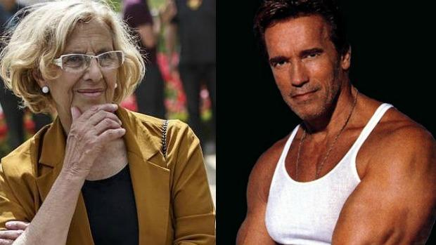 Carmena y Schwarzenegger