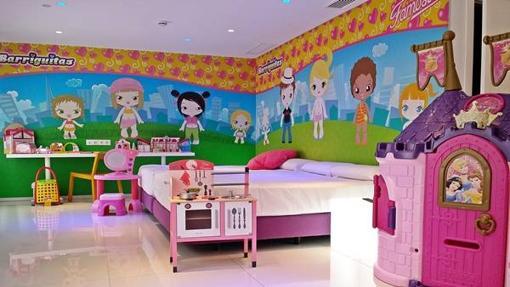 Habitación tematizada para niñas