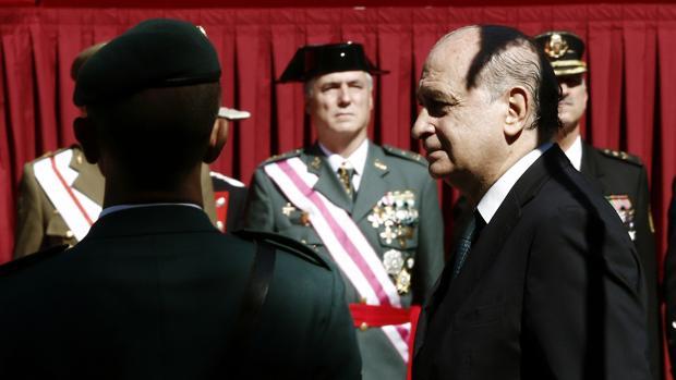 Fernández Díaz, ayer en Pamplona