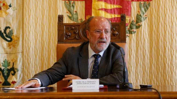 El ex alcalde de Valladolid, Javier León de la Riva