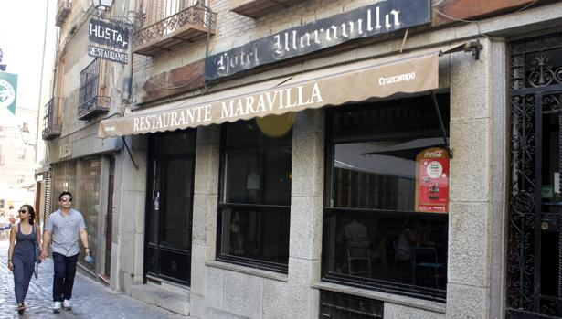 El restaurante Maravilla está en pleno Casco