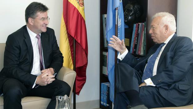 García-Margallo reunido este jueves en Nueva York con el ministro de Exteriores eslovaco Miroslav Lajcak