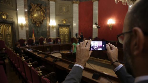 Lesmes defiende la independencia del Tribunal Supremo en el inicio de su jornada de puertas abiertas