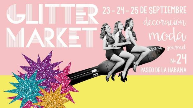 Cartel de Glitter Market