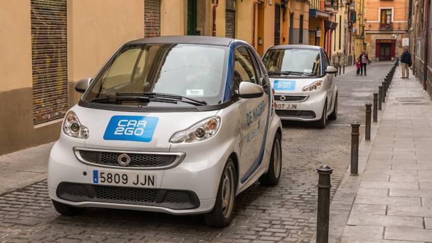 Más de 100.000 usuarios utilizan coches de alquiler «flexible» en Madrid