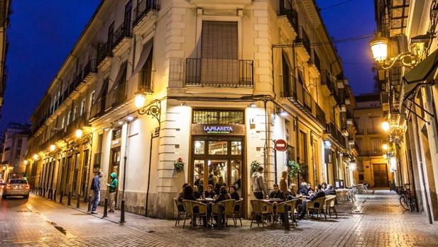 Imagen de una de las terrazas de El Carmen