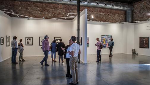 El público visita el espacio de Castilla-La Mancha en Estampa